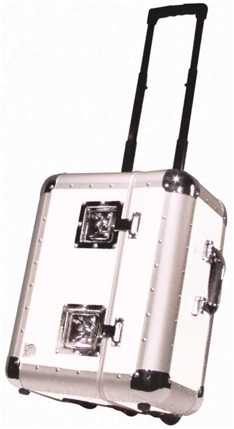 Odyssey KLP070WHT 70 LP Case with Wheels White - PSSL ProSound and Stage Lighting