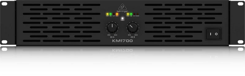 Behringer KM1700 Stereo 1700-Watt Power Amplifier - PSSL ProSound and Stage Lighting