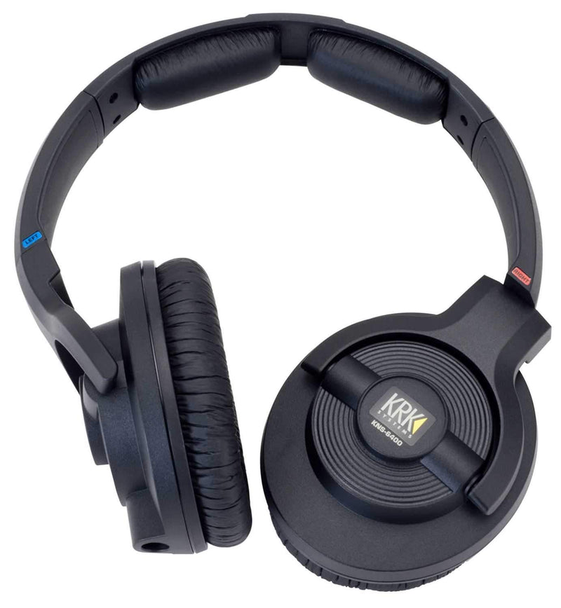KRK KNS6400 Closed Back Dynamic Studio Headphones - PSSL ProSound and Stage Lighting