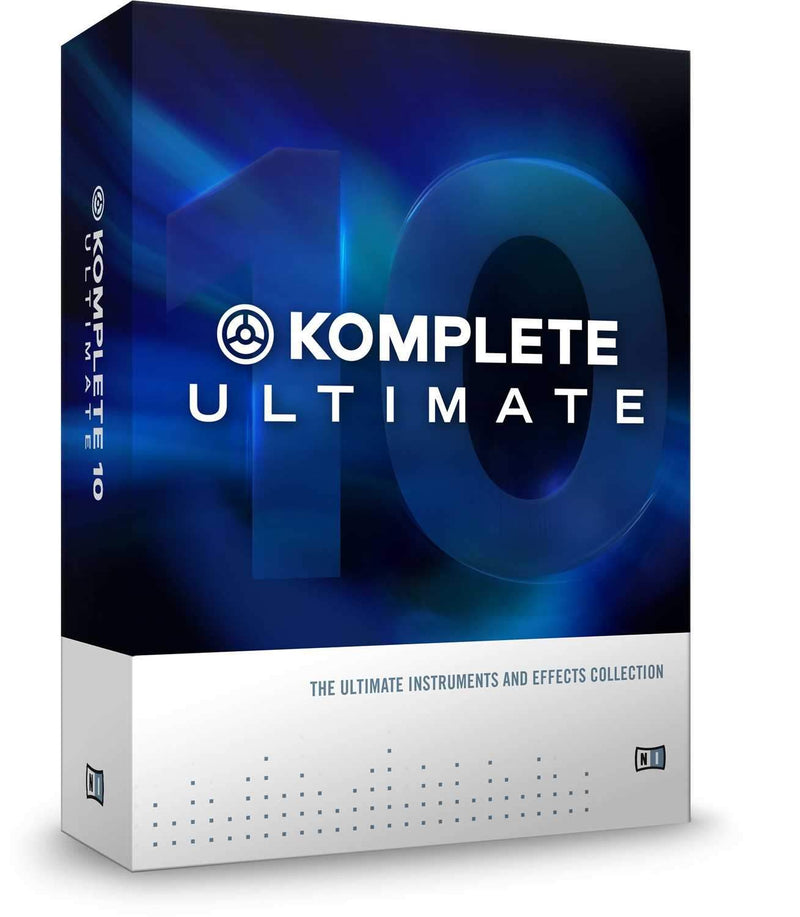 Native Instruments Komplete 10 Ultimate Software - PSSL ProSound and Stage Lighting