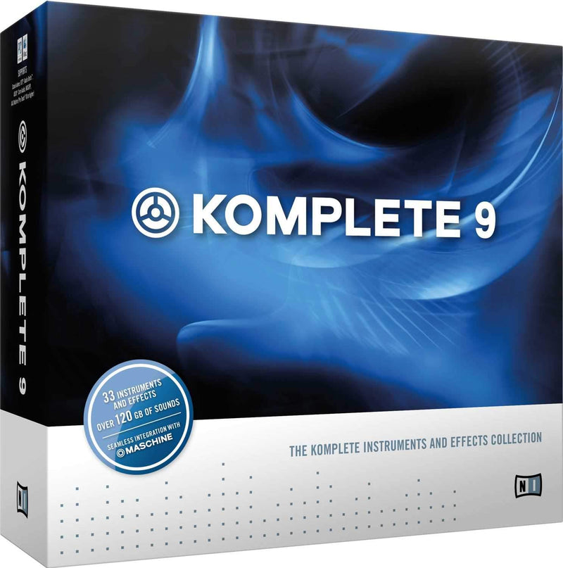 NI Komplete 9 Instrument / Effects Plug In Bundle - PSSL ProSound and Stage Lighting