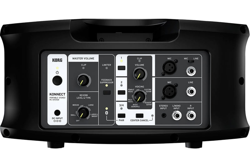 Korg Konnect Portable 4-Channel Bluetooth Stereo PA - PSSL ProSound and Stage Lighting