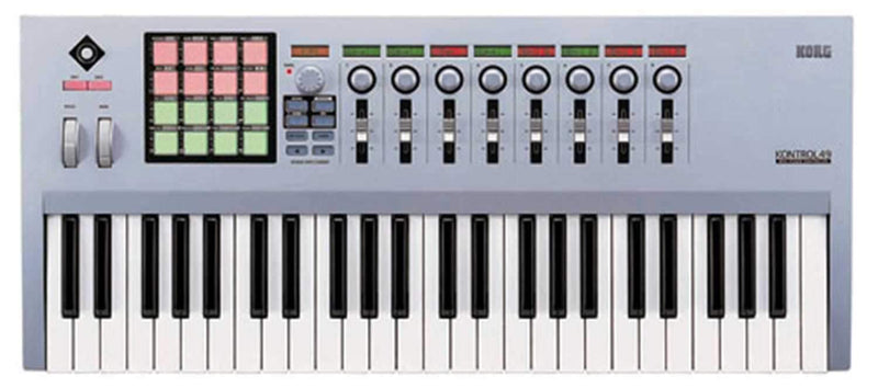 Korg 49 Key Midi Studio Controller with USB - PSSL ProSound and Stage Lighting