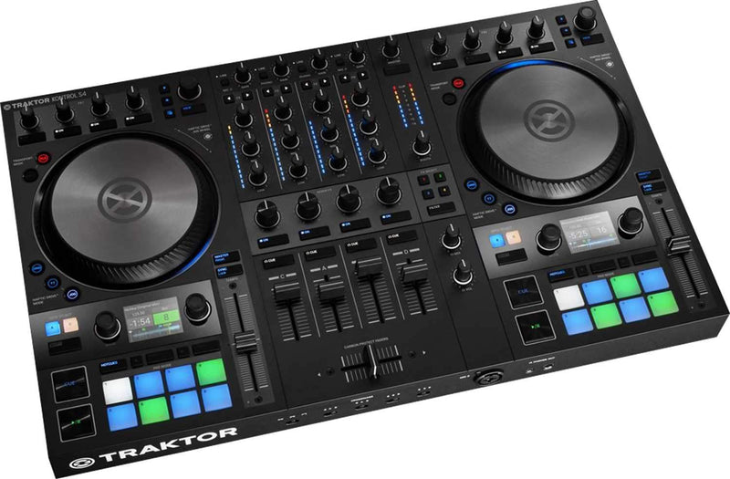 Native Instruments Kontrol S4 Mk3 Traktor DJ Controller - PSSL ProSound and Stage Lighting