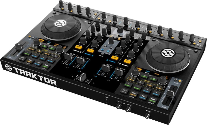 Native Instruments Kontrol S4 Traktor DJ System - PSSL ProSound and Stage Lighting