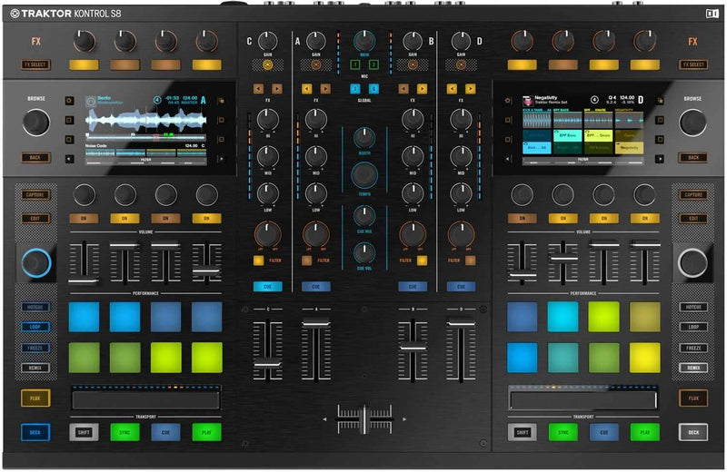 Native Instruments Kontrol S8 DJ Controller - PSSL ProSound and Stage Lighting
