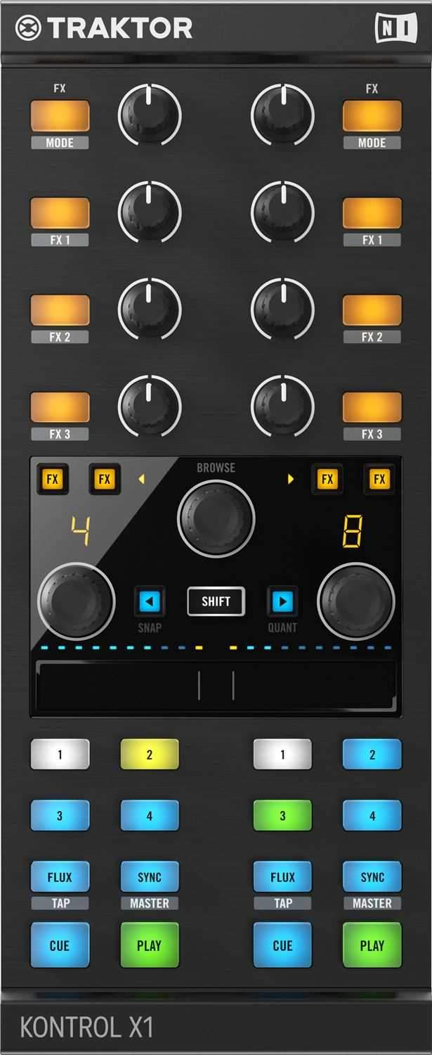 Native Instruments Kontrol X1 MK2 DJ Controller - PSSL ProSound and Stage Lighting