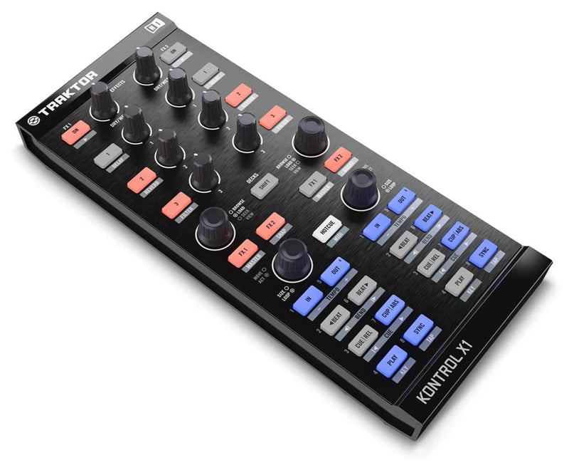 NI Traktor Kontrol X1 USB DJ Controller Interface - PSSL ProSound and Stage Lighting