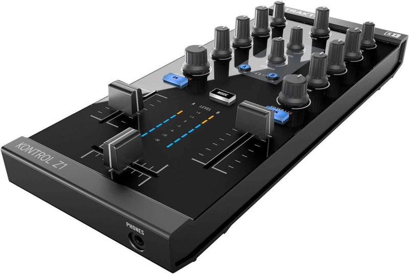 Native Instruments Traktor Kontrol Z1 2Ch DJ Mixer - PSSL ProSound and Stage Lighting