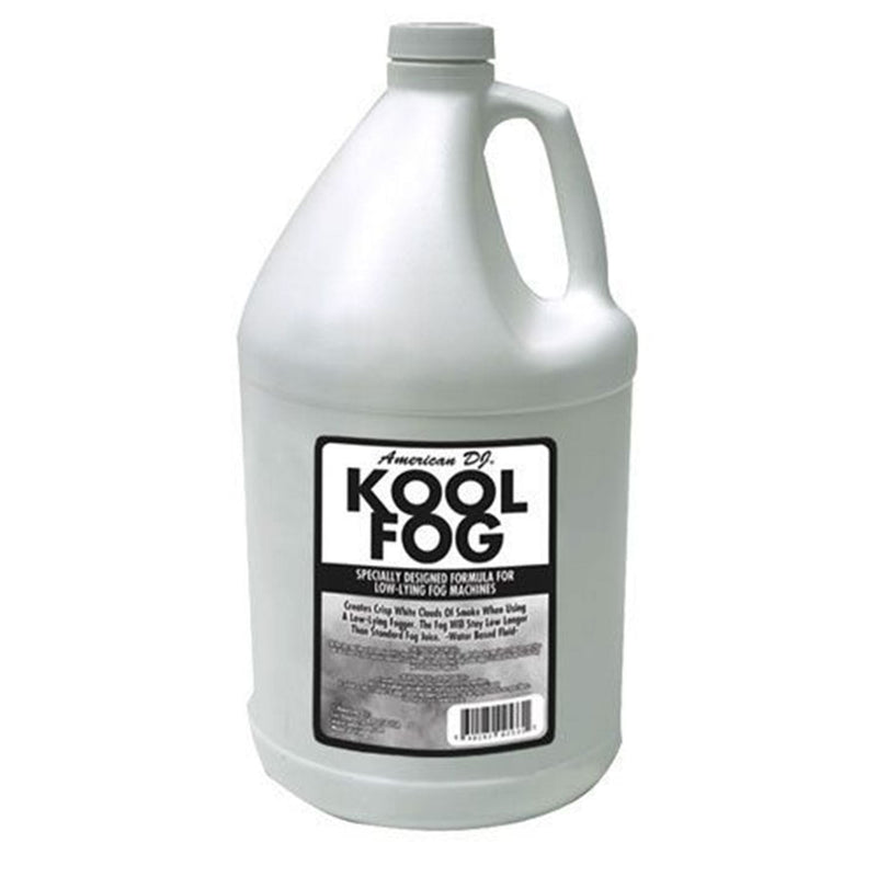 ADJ American DJ KOOL FOG Low Lying Fog Juice Gallon - PSSL ProSound and Stage Lighting