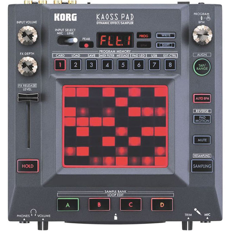 Korg KP3 Kaoss Pad Dynamic Effects Sampler System - PSSL ProSound and Stage Lighting