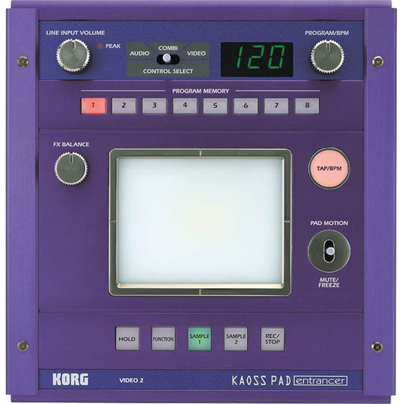 Korg Koass Pad Entrancer Audio/Video Processor - PSSL ProSound and Stage Lighting