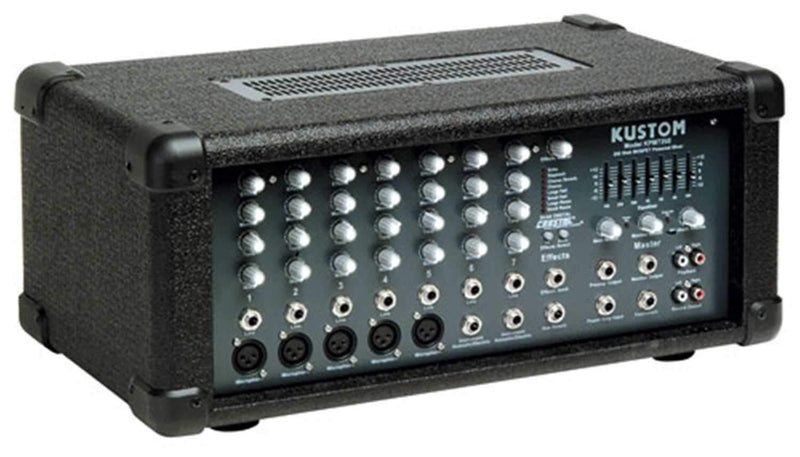 Kustom KPM-7250 Powered Mixer 200 Watts 4 Ohms - PSSL ProSound and Stage Lighting