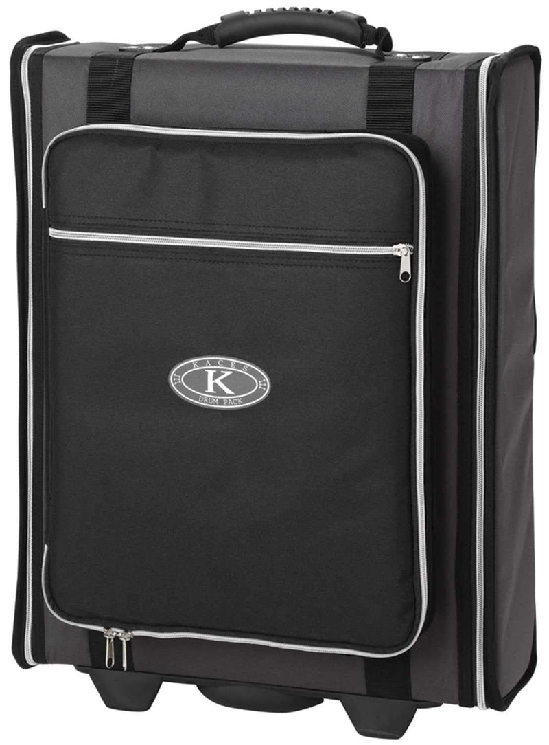 Kaces KPRC-2W 2 Space Rack-mount Gig Bag with Wheels - PSSL ProSound and Stage Lighting