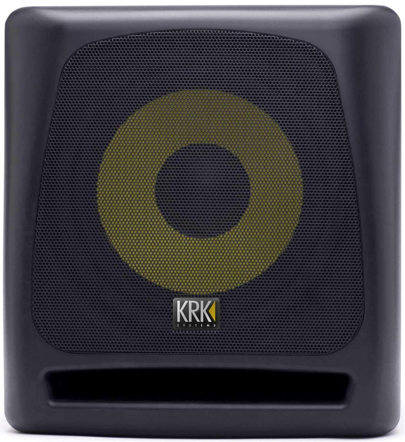 KRK KRK10S 10-Inch Powered Studio Subwoofer - PSSL ProSound and Stage Lighting