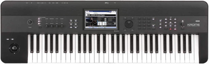 Korg KROME61 61-Key Music Workstation Synth - PSSL ProSound and Stage Lighting