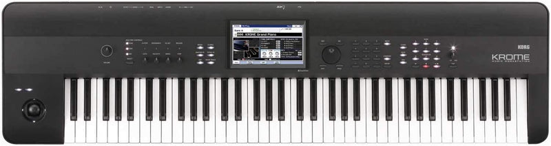 Korg KROME73 73-Key Music Workstation Synth - PSSL ProSound and Stage Lighting