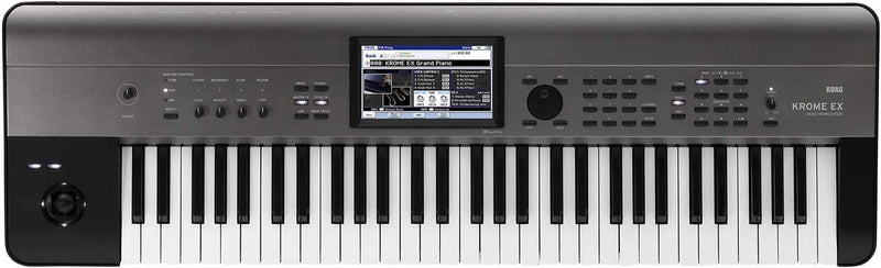 Korg Krome EX 61-Key Synthesizer Keyboard - PSSL ProSound and Stage Lighting