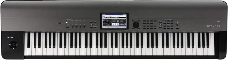 Korg Krome EX 88-Key Synthesizer Keyboard - PSSL ProSound and Stage Lighting