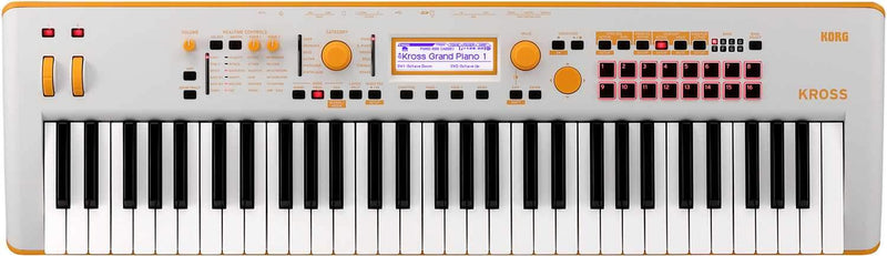 Korg Kross 2-61 Limited Neon Orange Synthesizer - PSSL ProSound and Stage Lighting