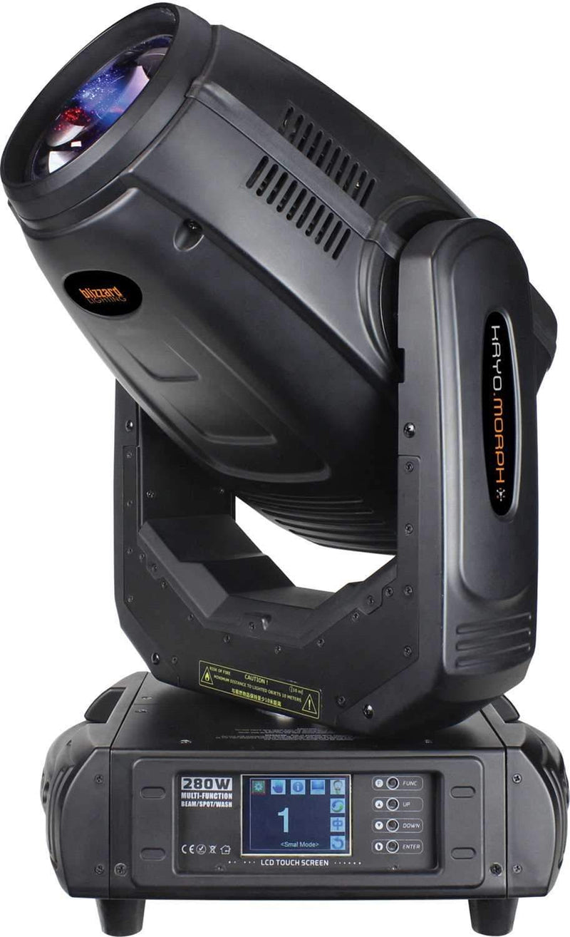 Blizzard Kryo Morph 280-Watt 3-in-1 Beam, Spot & Wash Moving Head - PSSL ProSound and Stage Lighting