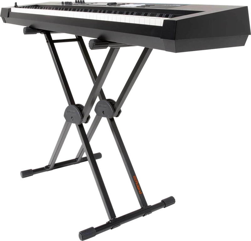 Roland KS-20X Double Brace Keyboard X-stand - PSSL ProSound and Stage Lighting