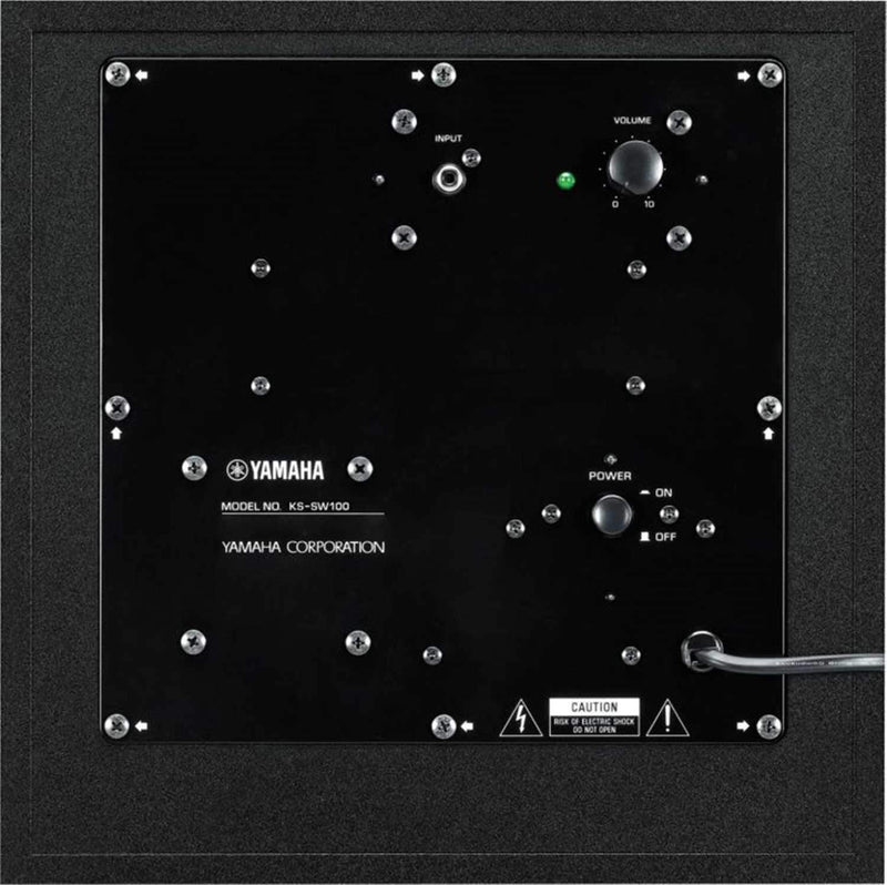 Yamaha KS-SW100 Compact Subwoofer for Keyboard - PSSL ProSound and Stage Lighting