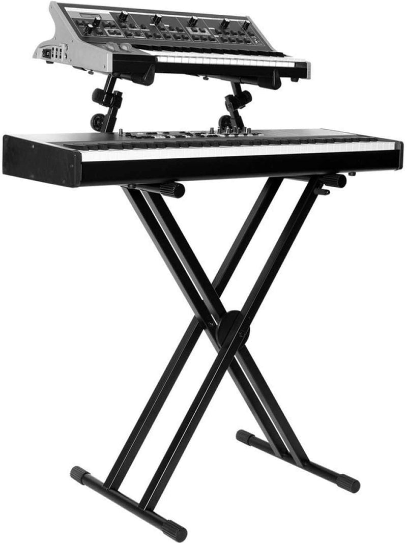 On-Stage KS7292 Double-X Ergo Lok Keyboard Stand - PSSL ProSound and Stage Lighting