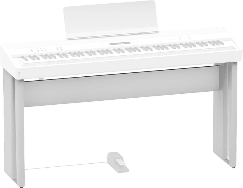 Roland KSC-90-WH White Piano Stand for FP-90 - PSSL ProSound and Stage Lighting