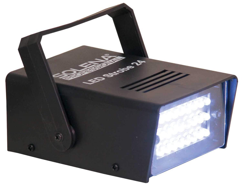 Solena Strobe 24 LED Light with Adjustable Speed - PSSL ProSound and Stage Lighting