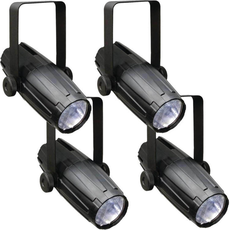 Chauvet LED Pinspot 2 Compact 3-Watt White LED Light 4-Pack - PSSL ProSound and Stage Lighting