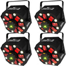 Chauvet Swarm 5 FX 3-in-1 Laser Effect Light 4-Pack - PSSL ProSound and Stage Lighting