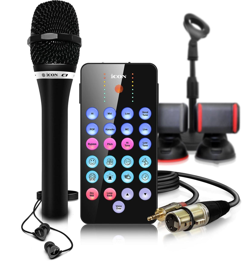 Icon Pro Audio LivePod Plus Bundle for Livestream - PSSL ProSound and Stage Lighting