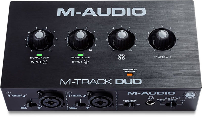 M-Audio M-Track Duo USB Audio Interface - ProSound and Stage Lighting