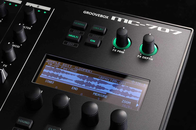 Roland MC-707 Groovebox Sequencer - PSSL ProSound and Stage Lighting