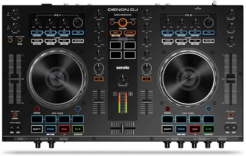 Denon DJ MC4000 2-Deck DJ Controller for Serato