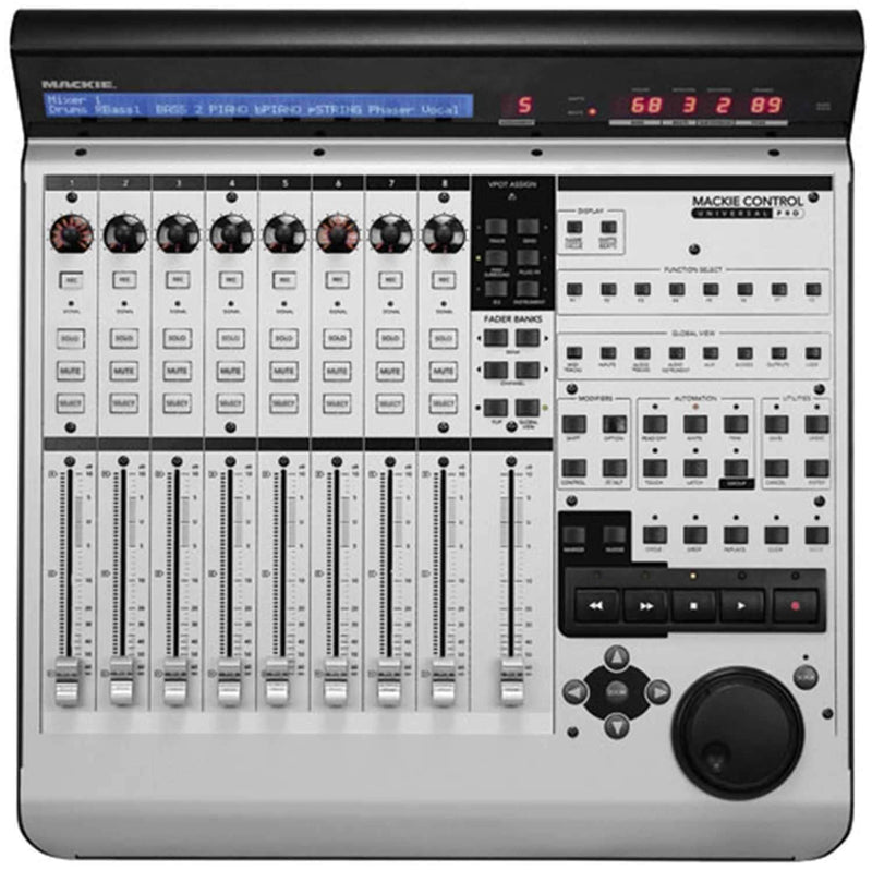 Mackie MCU Pro DAW Control Surface with Motorized Faders - PSSL ProSound and Stage Lighting