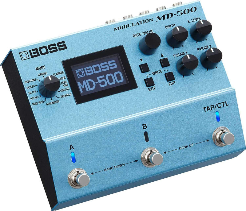 Boss MD-500 Modulation Effects Guitar Pedal - PSSL ProSound and Stage Lighting