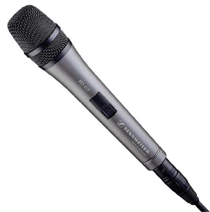 Sennheiser MD425 Supercardioid Handheld Mic - PSSL ProSound and Stage Lighting