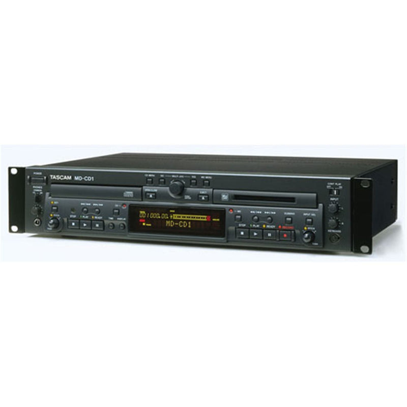 Tascam MDCD-1 Mini Disc Recorder And CD Player - PSSL ProSound and Stage Lighting