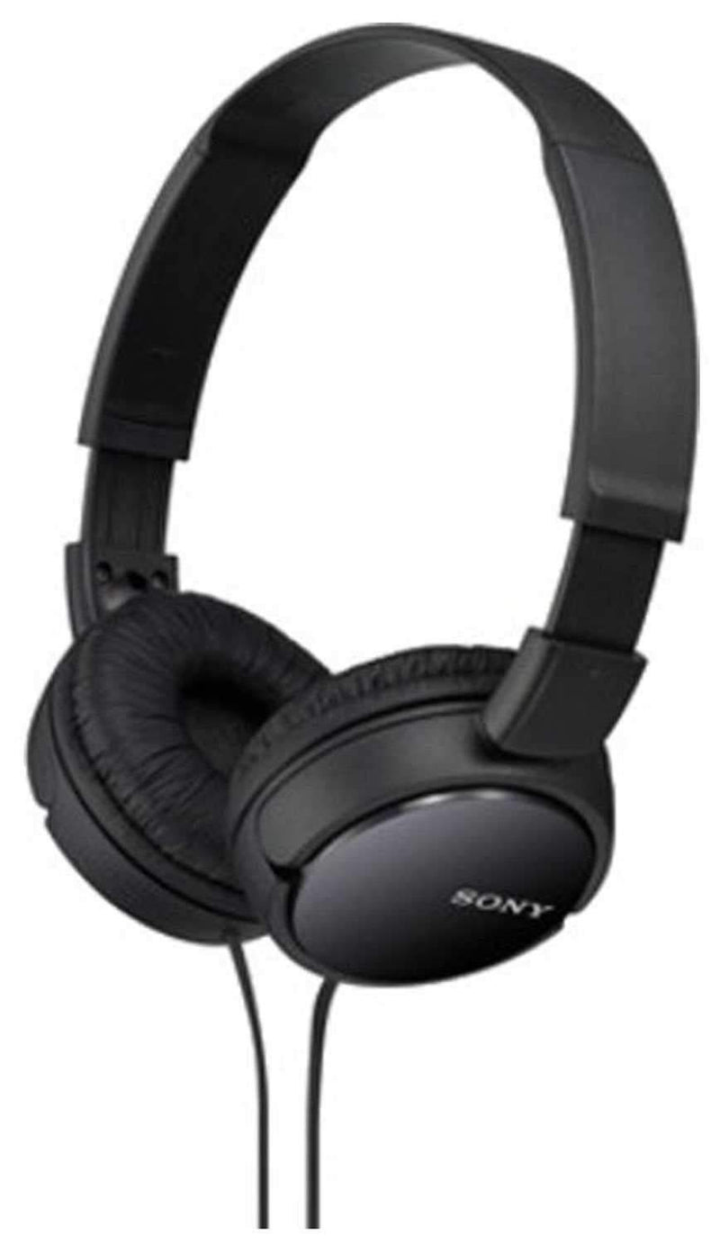 Sony MDRZX110-BLK Professional DJ Headphones - PSSL ProSound and Stage Lighting