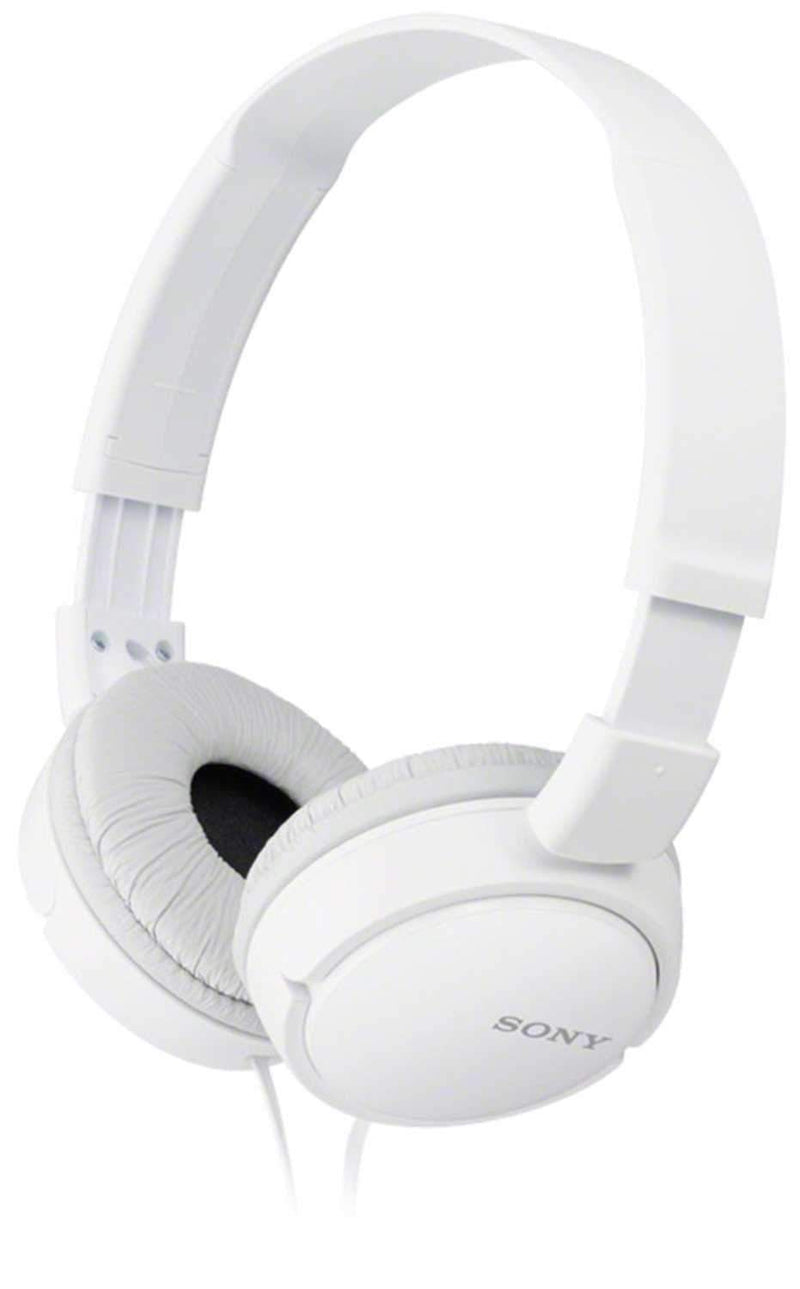 Sony MDRZX110-WHI Professional DJ Headphones White - PSSL ProSound and Stage Lighting