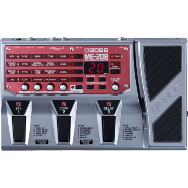 Boss ME-20B Bass Multi Effects Unit - PSSL ProSound and Stage Lighting
