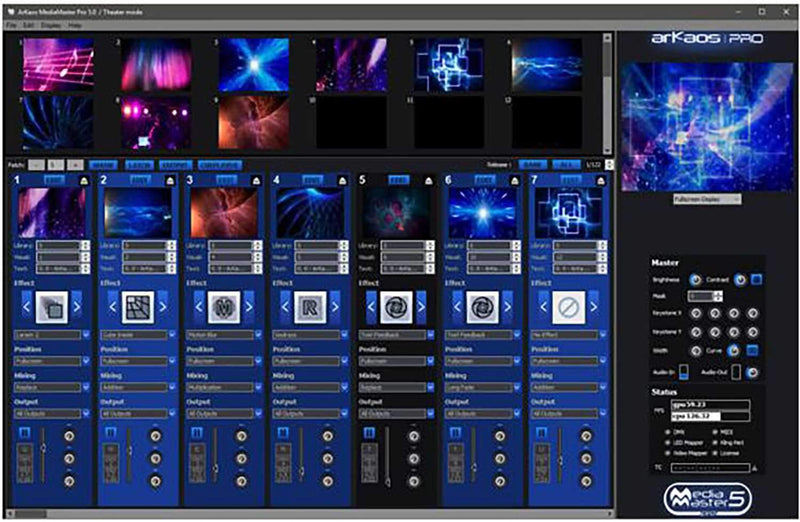 ArKaos Media Master Pro Software - Boxed - PSSL ProSound and Stage Lighting