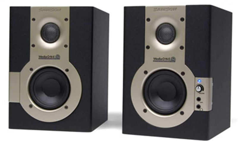 Samson MEDIAONE3A 3.5 Inch Active Monitor (pair) - PSSL ProSound and Stage Lighting