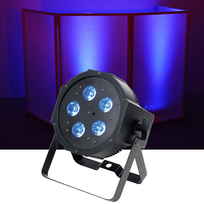 ADJ American DJ Mega QPlus Go Battery Powered RGB Plus UV LED Light - PSSL ProSound and Stage Lighting
