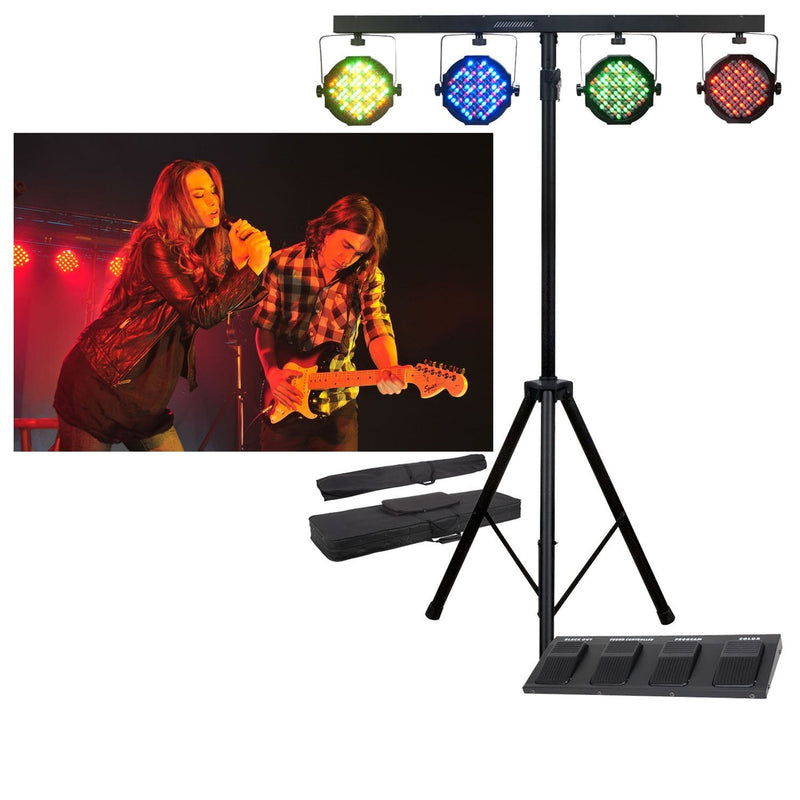 American DJ Mega Par Profile System with Std,Bag,Cont - PSSL ProSound and Stage Lighting