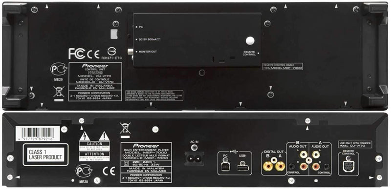Pioneer MEP-7000 Multi-Entertainment Controller - PSSL ProSound and Stage Lighting