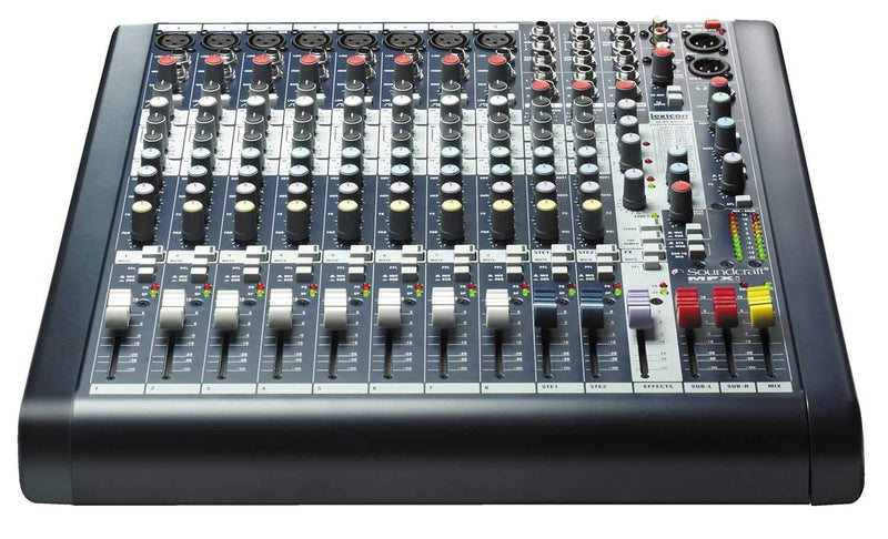 Soundcraft MFXi8 8-Channel PA Mixer with Lexicon FX - PSSL ProSound and Stage Lighting