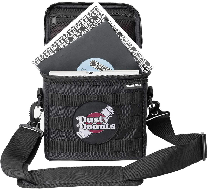 Magma MGA43027 45 Record Bag 50LP Dusty Donuts Edition - PSSL ProSound and Stage Lighting